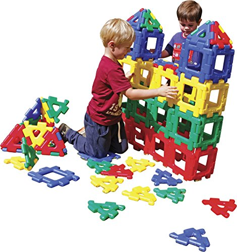 Polydron Giant Polydron Classroom Set, Set of 80 by Polydron