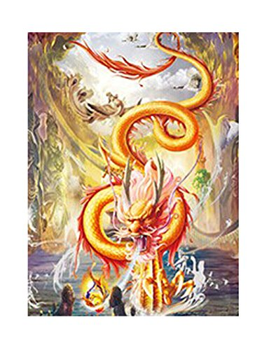 Those Flipping Pictures-UNFRAMED Parent Asian Dragons