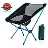 WDLHQC Portable Folding Camping Chair,Ultralight and Lightweight Compact Backpacking Chairs with Carry Bag