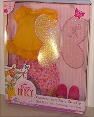 Azure Butterfly Outfit For Fabulous Fancy Nancy Doll from Jakks