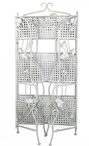 Heather Ann Creations W190944-AWHT Rosella Large Bakers Rack, Antique White by Heather Ann Creations (Image #3)