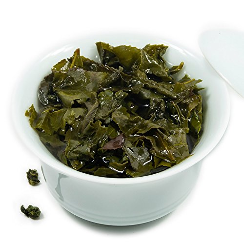 Oriarm 1kg Tie Guan Yin Oolong Tea from Anxi Fujian, Chinese Tieguanyin Oolong Green Tea Loose Leaf, Natural Whole Leaves Rich Antioxidants Brew Hot Tea or Iced Tea by Oriarm (Image #4)