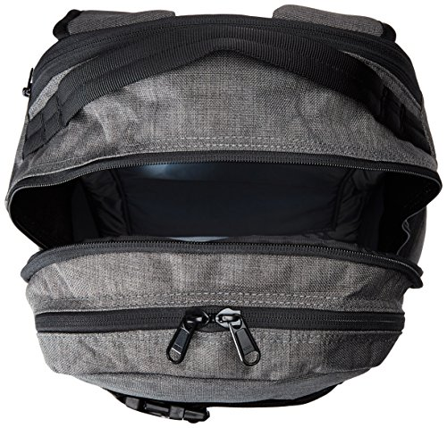 DAKINE Mission - Mochila para portátiles y netbooks (Negro, Monótono, Poliéster, Hombres, Top pocket, Side pocket, Pen pocket, Cell phone pocket, Zip pocket) Gris - gris oscuro