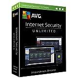 AVG Internet Security Unlimited 2017, 2 ans (carte-clé dans la boîte au détail, pas de CD)