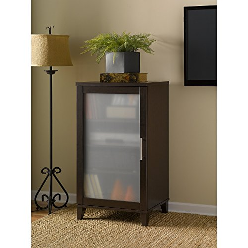 Somerset Media Cabinet in Mocha Cherry by Bush Furniture
