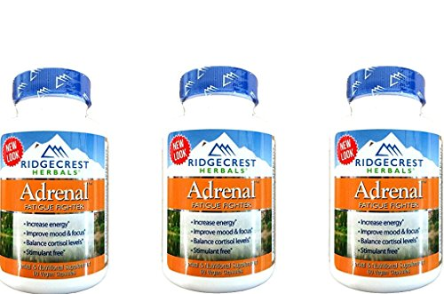 Adrenal Fatigue Fighter 60 CAP 3 pk by RidgeCrest Herbals