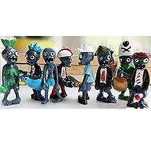 E.a@market Plants Vs Zombies II PVC Toys Sets 8PCS