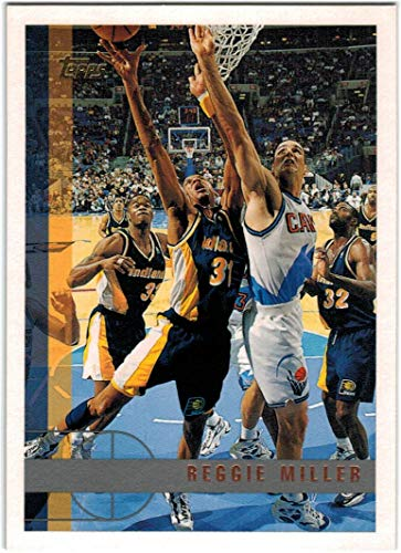 1997-98 Topps Basketball Indiana Pacers Team Set with Reggie Miller & Chris Mullin - 8 NBA Cards