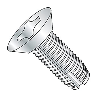 82 Degree Flat Undercut Head 1//4-20 Thread Size 1//4-20 Thread Size 3//4 Length Pack of 50 Small Parts 14121PU Phillips Drive Pack of 50 3//4 Length Type 1 Steel Thread Cutting Screw Zinc Plated