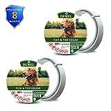 zpetii Flea & Tick Collar for Dog Waterproof Collars Fits All Large Medium
