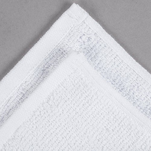 TableTop King 22'' x 34'' 100% Ring Spun Cotton Hotel Bath Mat 7 lb. - 12/Pack by TableTop King (Image #1)