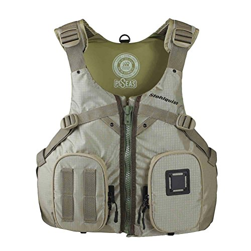 Stohlquist Piseas Lifejacket (PFD)-Khaki-L/XL