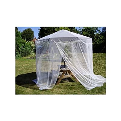 Mosquito Nets 4 U -Extra Large Garden Parasol Mosquito Net - Fits up to 9ft (270cm) Parasol