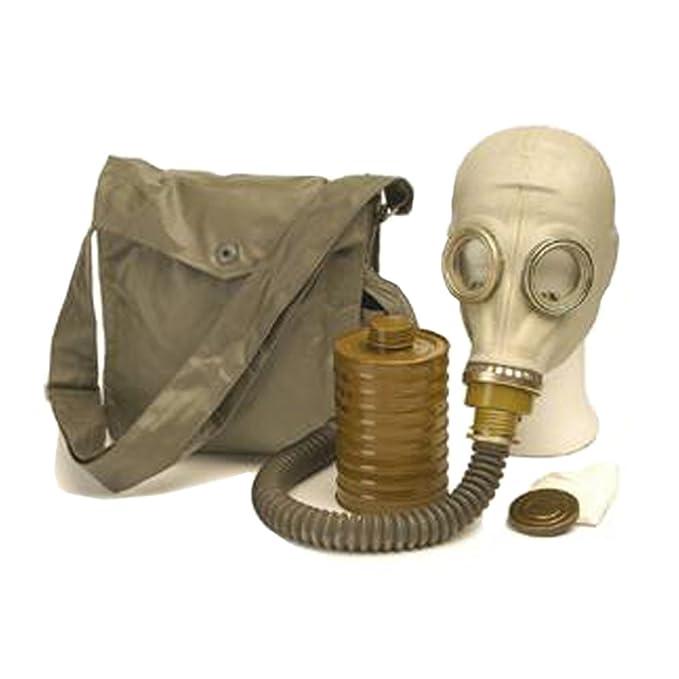 Bolsa original ABC-máscara de protección M41 con bolso, manguera y filtro de piscina