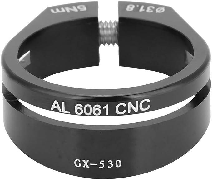 GUB 31.8//34.9mm MTB Road Bike Seatpost Clamp Quick Release Aluminium Alloy