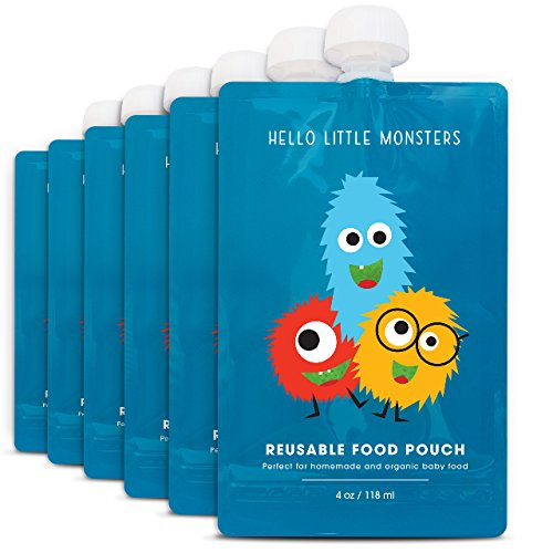 Hello Little Monsters Reusable Squeeze product image