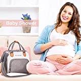 Convertible Diaper Bag Tote, CANWAY Unisex Travel