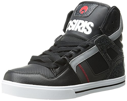 Scarpe Osiris: Clone BK Black/White/Red