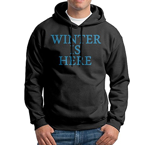 Winter Is Here Funny Men's Sweatshirt,Long Sleeve Hoody For - London Zoo Shop Online