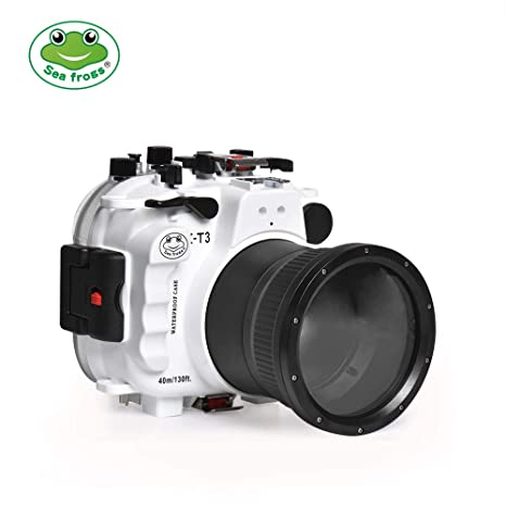 Sea frogs - Carcasa Impermeable para cámara Fujifilm X-T3 ...