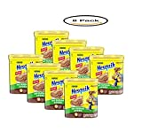 PACK OF 8 - NESTLE NESQUIK No Sugar Added Chocolate Flavored Powder 16 oz. Canister