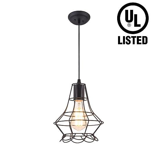 Amazon.com: ABITARE - Lámpara de techo colgante vintage para ...