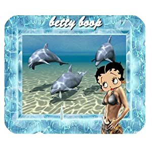 Custom Betty Boop Personalized Rectangle Mousepad SBY-453