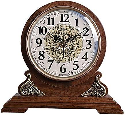 KJH Reloj de Mesa, Pasado de Moda de Mantel Relojes, Reloj de Mesa ...