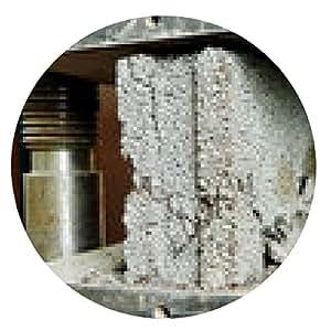 alfombrilla de ratón prueba de la calidad del hormigón - ronda - 20cm