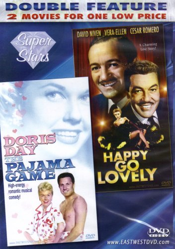 HAPPY GO LOVELY +THE PAJAMA GAME[SLIM CASE][DOUBLE FEATURE]