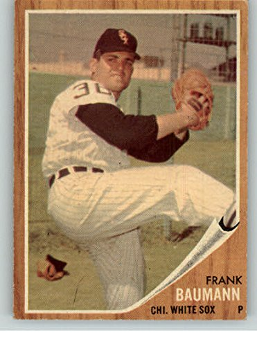 1962 Topps #161 Frank Baumann White Sox EX-MT Green Tint 323871 Kit Young Cards