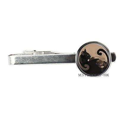Amazon com: Botewo0lbei Cat Tie Clip Cat Jewelry Tie Clip Wearable