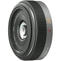 Panasonic LUMIX G 20mm/F1.7 ASPH. Pancake Lens | H-H020 - International Version (No Warranty)