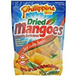 Sweet Memories of Cebu Philippine Brand Dried Mangoes Naturally Delicious (1 lb 4 oz)