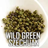 The Spice Lab's Wild Green Szechuan Pepper - China 8 Oz. bag - Premium (Whole)
