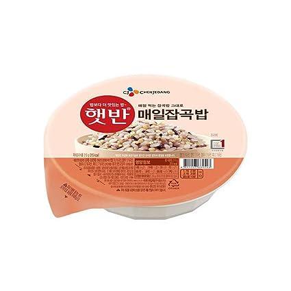 Arroz instantáneo coreano de múltiples granos sin pegamento ...