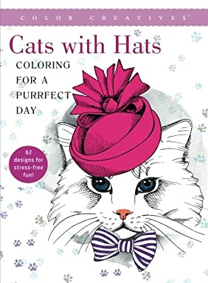 Cats with Hats: Coloring For a Purrfect Day