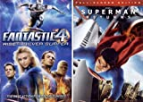 Fantastic 4 Rise of the Silver Surfer - Superman Returns - Double Feature DVD Pack