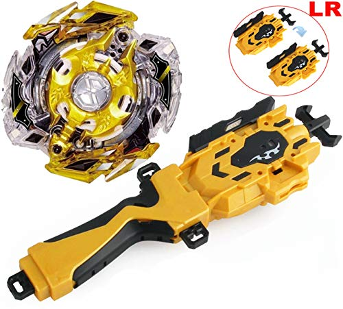Bey BURST Blade Evolution God Bay Burst Blades LR String Launcher Grip Starter B-111 RARE Legend Spriggan/Spryzen 0 Under Nothing Game Toys 4D Battling Top Left Right Launcher Bey Battle Set Boys Gift