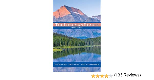 Amazon the longman reader 10th edition 9780205172894 amazon the longman reader 10th edition 9780205172894 judith nadell john langan eliza a comodromos books fandeluxe