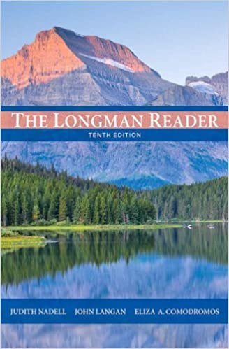 Amazon the longman reader 10th edition 9780205172894 amazon the longman reader 10th edition 9780205172894 judith nadell john langan eliza a comodromos books fandeluxe Choice Image