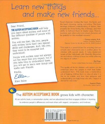 Autism Acceptance Book