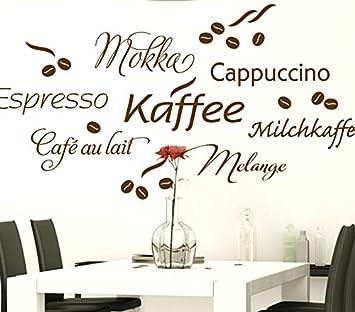 Wandtattoo-Günstig G017 Kaffee Cappuccino Espresso ...