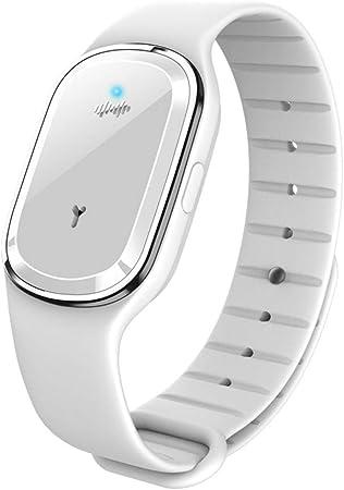 KINJOHI Tops Bracelet Anti-Moustique /à ultrasons Montre Anti-Insecte USB Bracelet ext/érieur Anti-Moustique pour Enfant Adulte