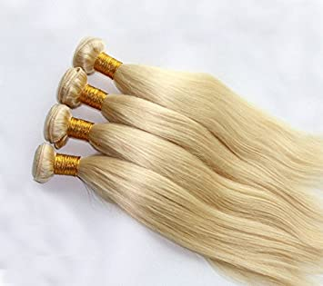 Amazon 613 blonde human hair bundles straight blonde hair 613 blonde human hair bundles straight blonde hair extensions 100 remy hair weaves 1 pmusecretfo Gallery