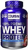 USN 100% Premium Whey Protein Shake Powder - 2.28 kg, Strawberry Cream