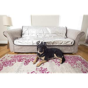 Pet Parents Pain-Free Pet Repeller Cat & Dog Deterrent Mat, Non-Electric Pet Deterrent Mat to Keep Pets Off Couch & Furniture, Cat Deterrent Mat, Premium Couch Covers for Dogs, Keep Dog Off Couch!