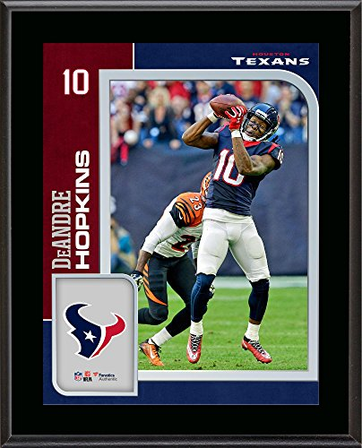 Deandre Hopkins Houston Texans 10.5'' x 13'' Sublimated Player Plaque - NFL Player Plaques and Collages