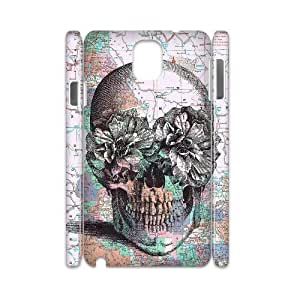Skull Customized 3D Cover Case for Samsung Galaxy Note 3 N9000,custom phone case ygtg557624