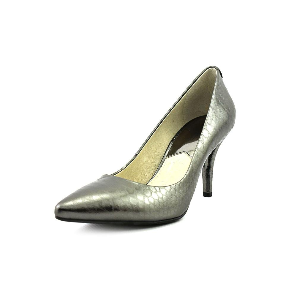 f5517d70157c Michael MICHAEL KORS Women s MK Flex Mid Pump (Gunmetal Python 6.5 M)   Amazon.co.uk  Shoes   Bags